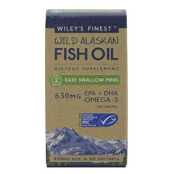 Wileys Finest Wiley's Finest Wild Alaskan Fish Oil Easy Swallow Minis