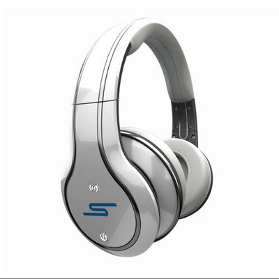 SMS AUDIO Sync 50 Cent Wireless Headphones - White, White