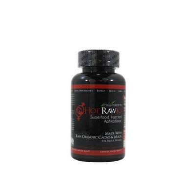 Hot Rawks All Natural Organic Libido Enhancer, 1 ea