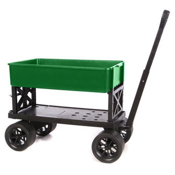 Mighty Max Cart Llc Mighty Max Double Decker Garden Cart