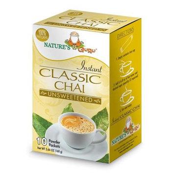 Nature's Guru Natures Guru Classic Chai Unsweetened Drink Mix - Pack Of 8