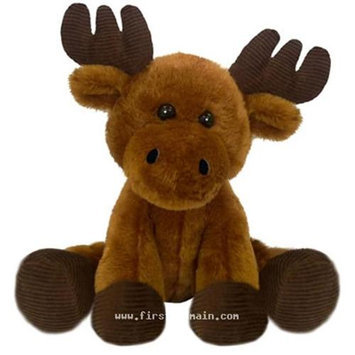 First & Main, Inc. First & Main 7703 7 in. Sitting Floppy Friends Moose Plush Toy