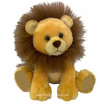 First & Main, Inc. First & Main 7733 7 in. Sitting Floppy Friends Lion Plush Toy