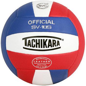 Tachikara USA SV18S. SWB Composite Leather Volleyball - RedWhite-Black