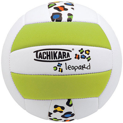 Tachikara SofTec Volleyball Lime Green White