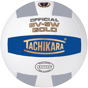 Tachikara SV-5W NFHS Gold Premium Leather Indoor Volleyball