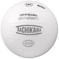 Tachikara SV-5WH NFHS Top Grade Leather Indoor Volleyball