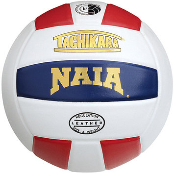 Tachikara Usa Tachikara NAIA Official Game Volleyball - Scarlet-White-Navy