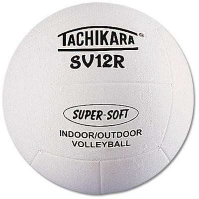 Tachikara SV12R Super-Soft Indoor-Outdoor Volleyball - White