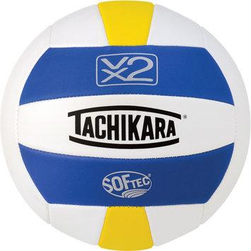 Tachikara SofTec Volleyball Royal White Yellow