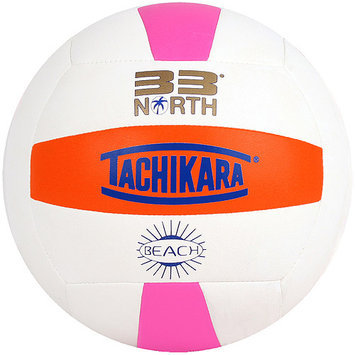 Tachikara Usa Inc Tachikara USA 33N.LGWR Tachikara 33 degrees NORTH Beach Volleyball - Lime White Blue