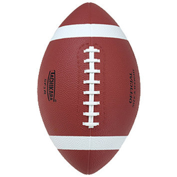 Tachikara SF4R Intermediate Size Rubber Football - Tan