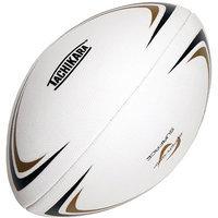 Tachikara RGB1 Super-Grip Rugby Ball - Gold-White-Black