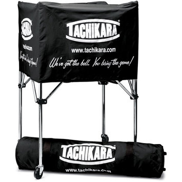 Tachikara Usa Tachikara Collapsible Ball Cart with Nylon Carry Bag, Scarlet