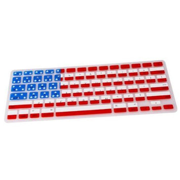 The Case Doctor 12-KEYB-0186 USA American Flag Mac Book Pro 13 15 17 Silicone Keyboard Cover Skin