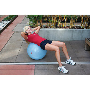 Fitness Quest Bosu Ballast Ball - Blue
