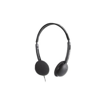 Compucessory CCS15151 Deluxe Lightweight Stereo Headphones