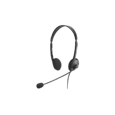Compucessory CCS15154 Lightweight Stereo Headphones With Mic