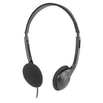 Compucessory CCS15155 Cushion Stereo Headphones With Vol Control