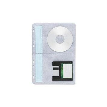 Compucessory CD/DVD Ring Binder Storage Page