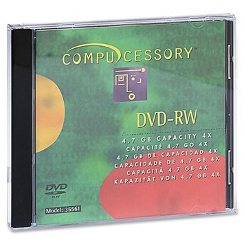 Compucessory CCS35561 Branded Dvd-Rw Disc Pack of 10