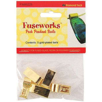 Diamond Tech Crafts NOTM158215 - Fuseworks Posh Pendants Bails 5pc