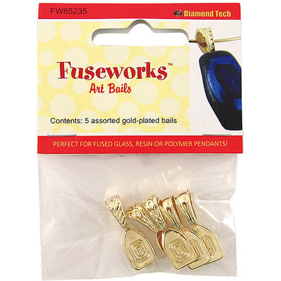 Diamond Tech Crafts NOTM158216 - Fuseworks Art Bails 5pc