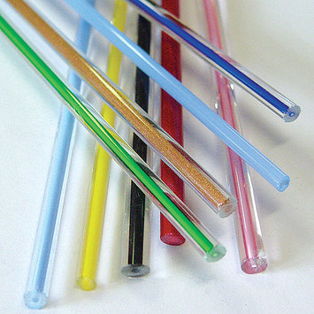 Diamond Tech Fireworks Glass Rod Set, Opalino/Filigrana