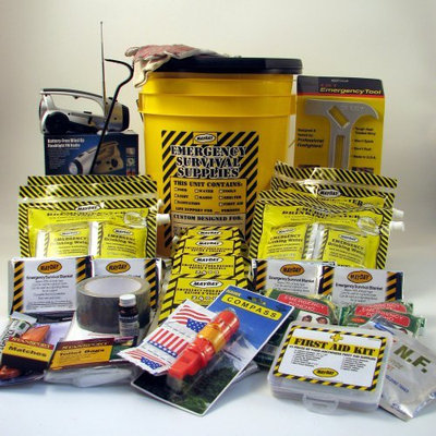 Mayday Industries Inc MAYDAY KEX4P 4 Person Deluxe Emergency Honey Bucket Kit