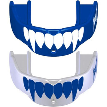 Battle Sports Science Tapout Fang Mouthguard 2-Pack - Adult - Blue/White and White/Blue