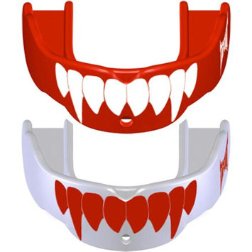 Battle Sports Science TapouT Special-Edition Fang Mouth Guard Red/White