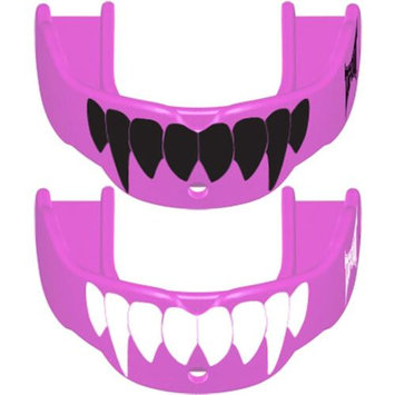 Battle Sports Science Tapout Fang Mouthguard 2-Pack - Youth - Pink/Black and Pink/White