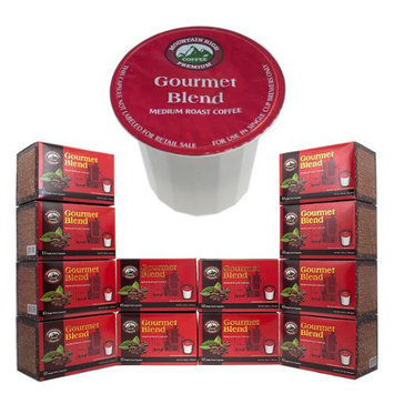 144-Count K-Cups Mountain High Premium Single Serve One Use Coffee Pod Packs GOURMET