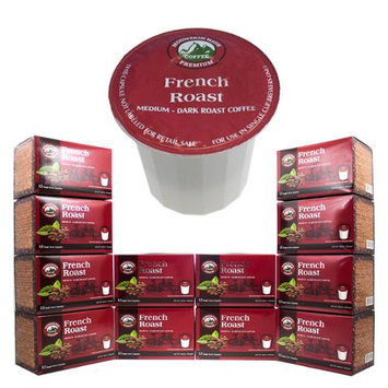 144-Count K-Cups Mountain High Premium Single Serve One Use Coffee Pod Packs FRENCH ROAST