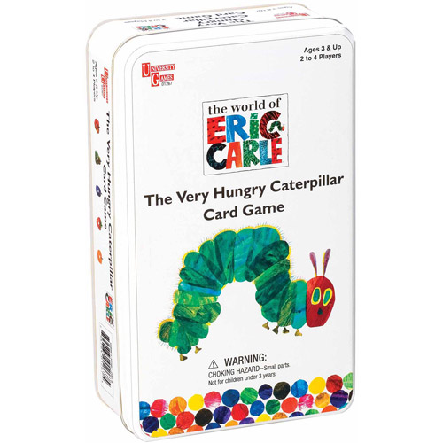 University Games The Very Hungry Caterpillar Card Game
