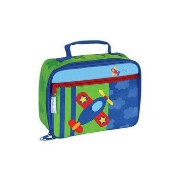 Stephen Joseph Lunch Box - Airplane (Blue/Green)