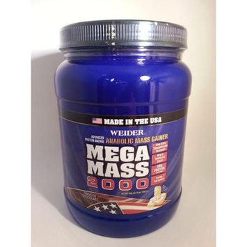 Weider-Mega Mass 2000 - 1.98lbs chocolate