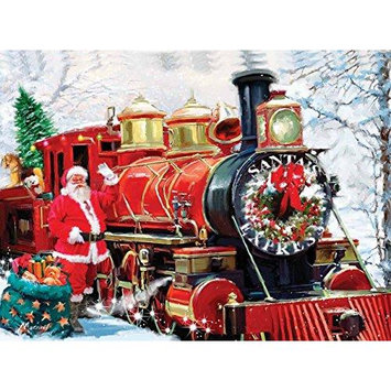 Christmas Express 1000 piece jigsaw from SunsOut SOIY2740