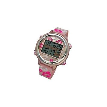 Global Assistive Devices VibraLITE 12 Vibrating Watch with Pink Flower Band