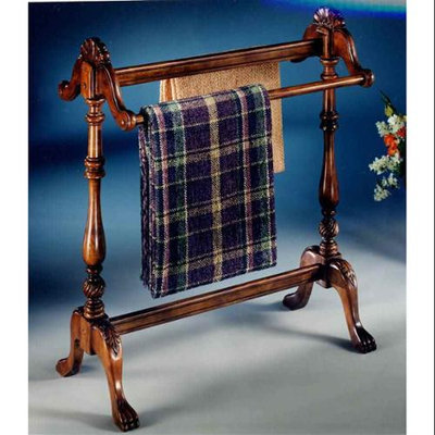 Butler Specialty 991024 Blanket Stand Plantation Cherry Finish