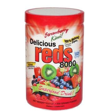Greens World Inc. Delicious Reds 8000 Strawberry Kiwi - 10.6 oz
