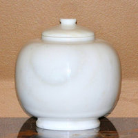 Marble Products International Dome White Medium Pet Urn