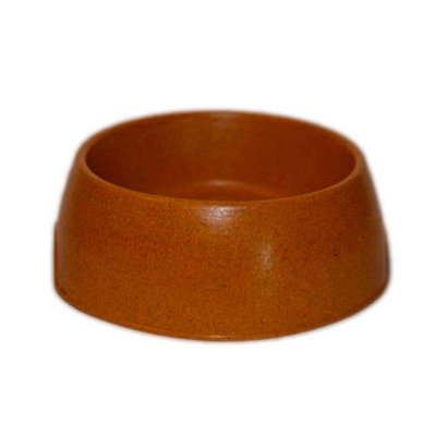 Green Pet Shop 1BBBS Bamboo Bowl S Brown