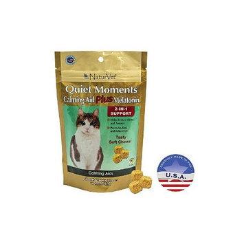 Turvet / Garmon Corp Garmon Corporation-Naturvet AH03681 Quiet Moments Calming Cat Plus Melatonin Sof