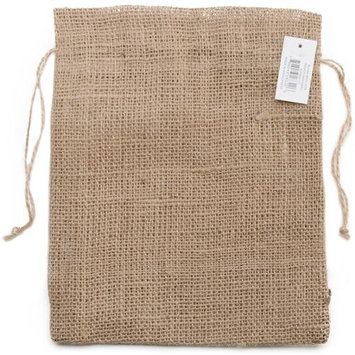 Kel Toy Kel-Toy Burlap Pouch, 8 by 10-Inch, Natural 426980