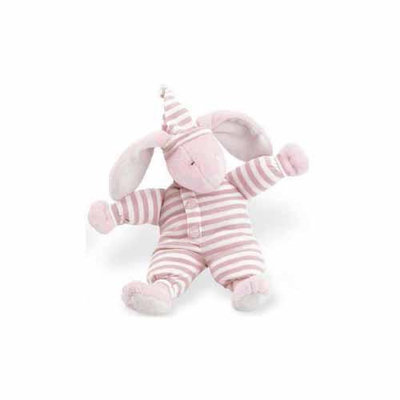 North American Bear Sleepyhead Bunny Rattle - Small - Pink