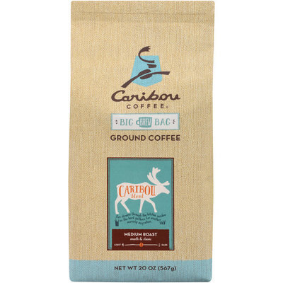 Caribou Coffee Caribou Blend Medium Roast Ground Coffee, 20 oz
