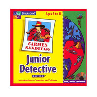 Learning Company Carmen SanDiego Junior Detective Win/Mac New