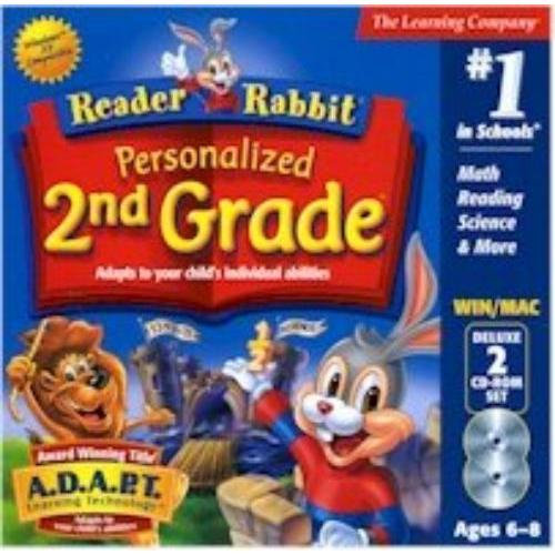 Learning Company Rrper2ndgradejc Reader Rabbit - Personalized 2nd Grade [windows & Macintosh (classic)]