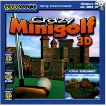 Gamesoft Crazyminigolf Crazy Minigolf 3d [windows 98/me/2000/xp]